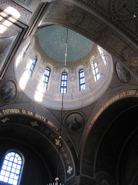 天井のドーム部分 photo by flickr