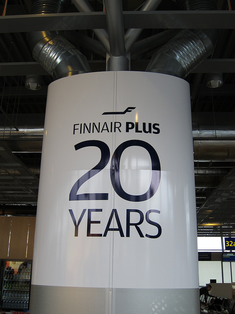 FINNAIR PLUS 20YEARS