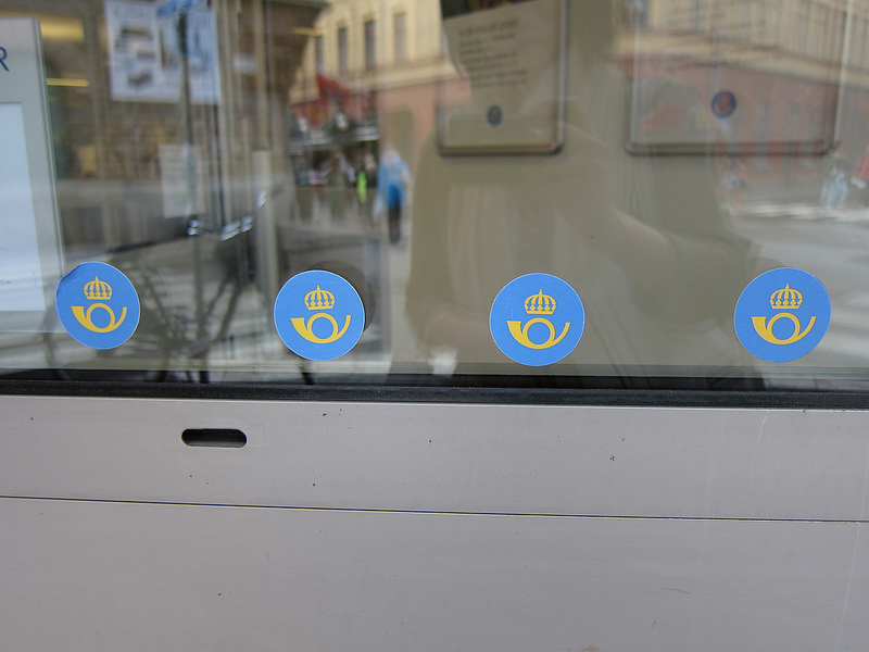スウェーデンの郵便局
