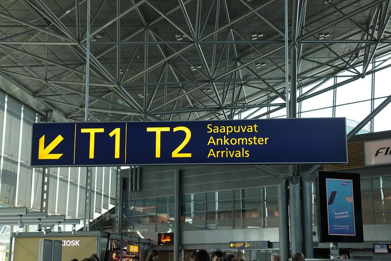 ヴァンター空港からヘルシンキ市内へのアクセス