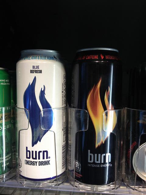 エナジードリンク『burn』