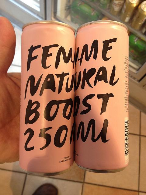 ファッショナブルなデザインの缶