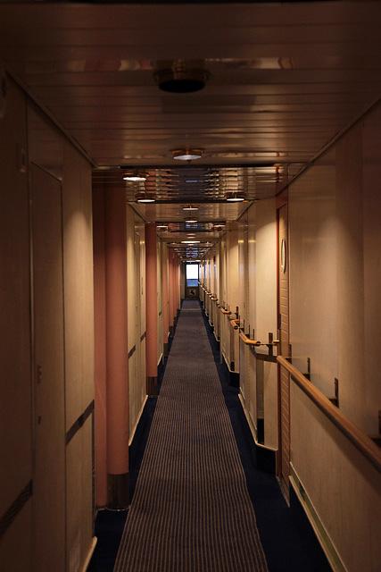 動くリゾートホテル、シリヤラインAクラスの客室