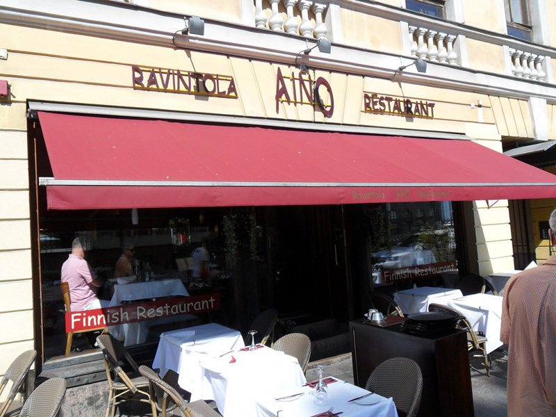 伝統的なフィンランド料理が楽しめる『RAVINTOLA AINO』