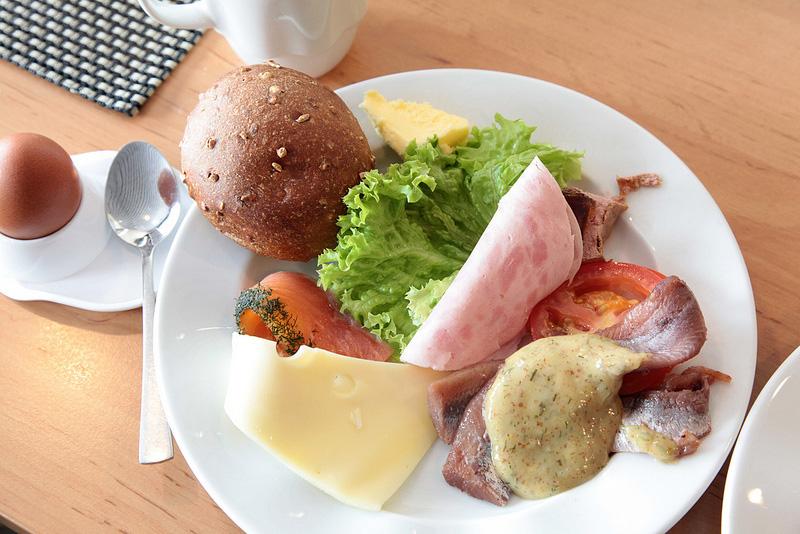 シリヤラインの朝食ビュッフェ