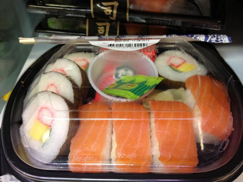 スウェーデンのお寿司