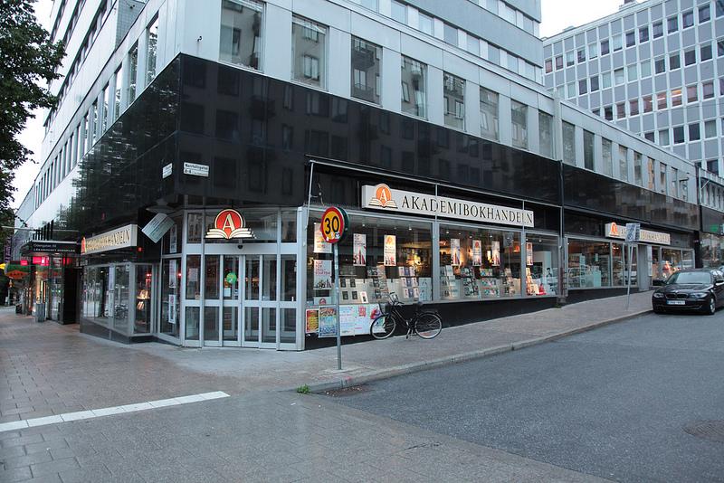 スウェーデンには何軒かあるチェーンの本屋さん