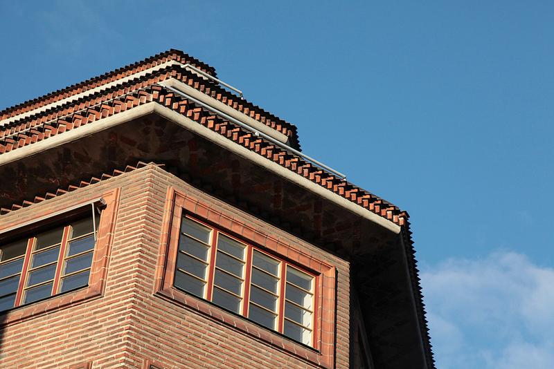 屋根のエッジがギザギザ!