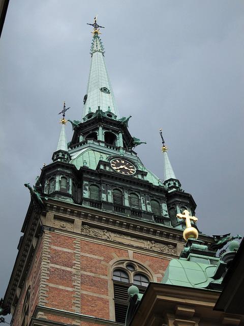 ガムラ・スタンをゆく -2- ドイツ教会、大広場から大聖堂へ
