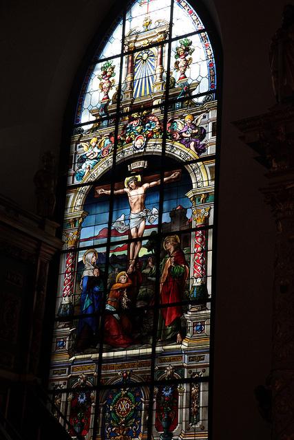 ドイツ教会のステンドグラス