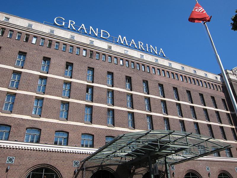 港のレンガ倉庫を改造したホテル『グランド・マリーナ』