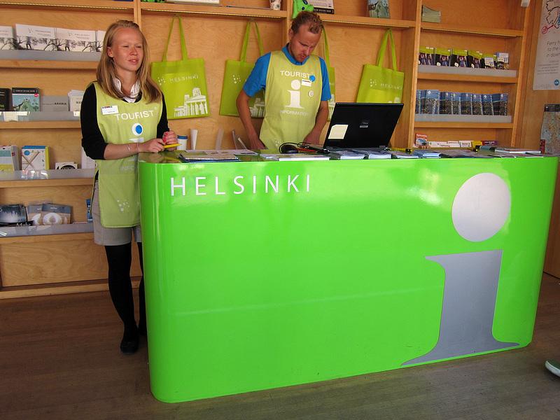 ヘルシンキ観光の強い味方、観光案内所を活用しよう