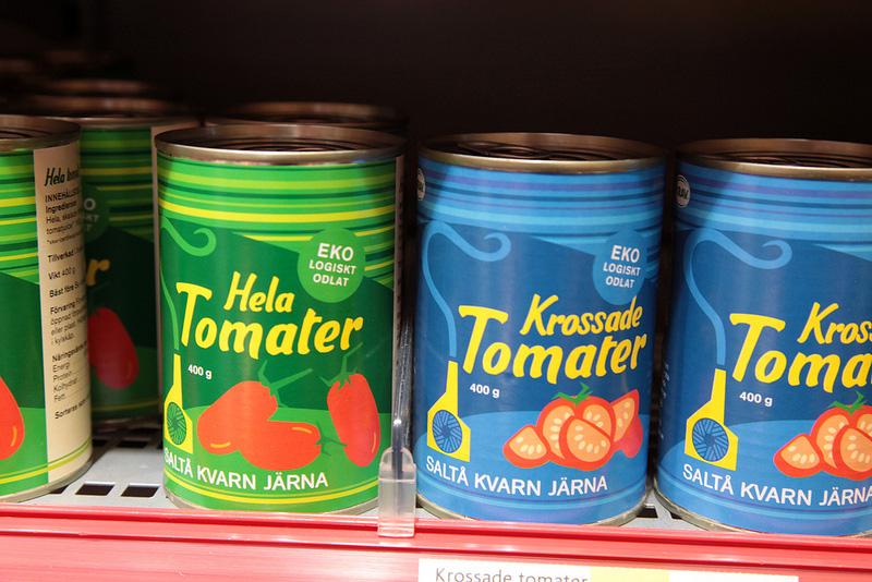 缶入りのトマトソース
