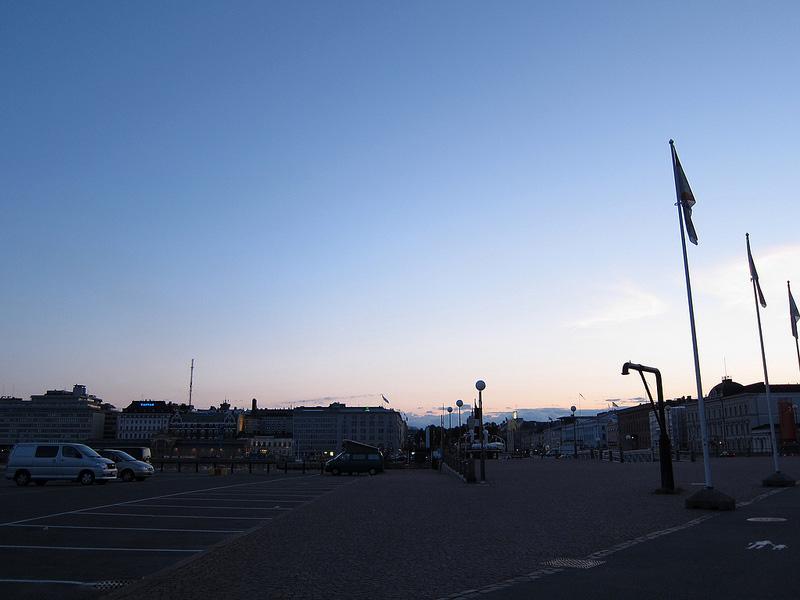 日没のエテラ港