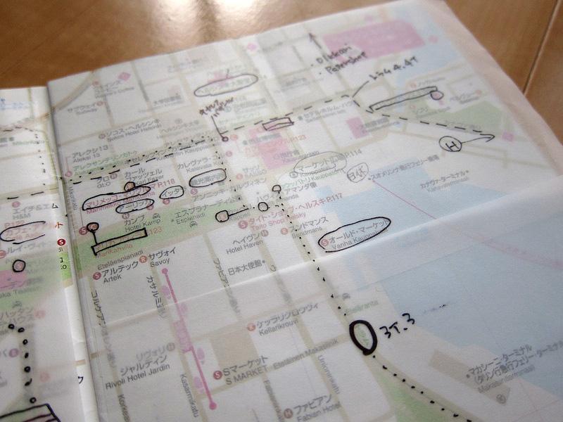 地図とアプリをフル活用!街歩きのルートはこうして決めよう