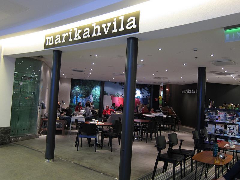 インテリアも食器もマリメッコづくしのカフェ『マリカハヴィラ』