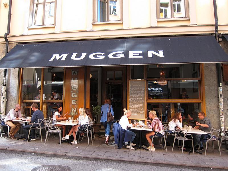 セーデルマルムのおしゃれカフェ『MUGGEN』でランチ