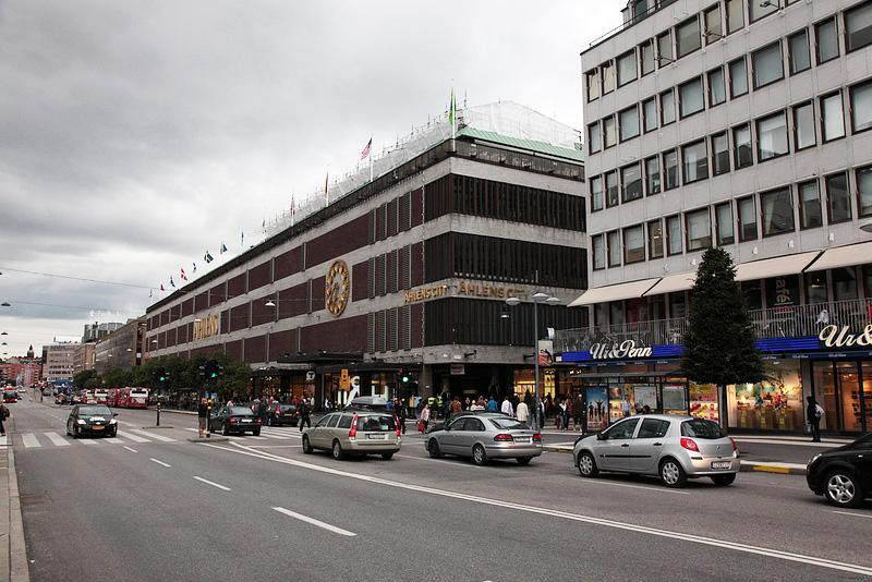 スウェーデンのデパートÅHLÉNS CITY