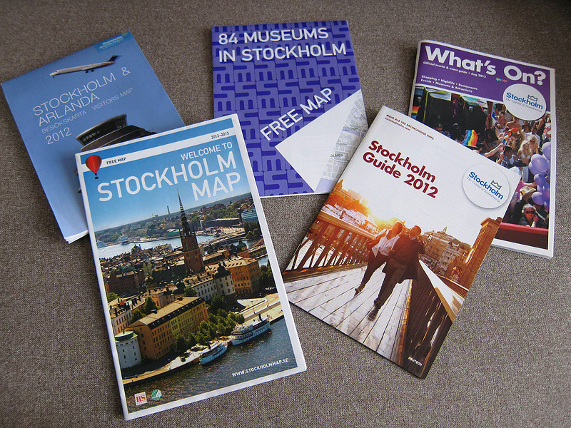 ストックホルム観光の強い味方、観光案内所を活用しよう