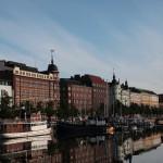 ヘルシンキの早朝散歩(ホテルの東側からウスペンスキー寺院の北側へ)