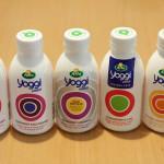 スウェーデンのパッケージデザイン -1- Arla社の飲むヨーグルト『yoggi』